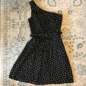 EUC WHBM Polka Dot Dress